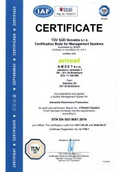 AMSET – ISO 9001